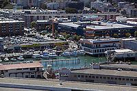 aerial photograph Anchorage Square Fisherman's Wharf San Francisco