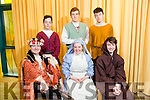 front l-r Pierse O'Brien, Amy Roche, Matthew  Dineen, back l-r Elijah McGuire, Richard Williams and James Franklin at rehearsals for Mercy Mounthawk's production of William Shakespeare's 'Romeo and Juliet'
