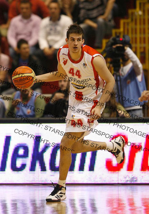 Kosarka, Super liga Srbije, sezona 2009/2010.Crvena Zvezda Vs. Partizan.Nemanja Bjelica.Belgrade, 28.04.2010..foto: Srdjan Stevanovic/Starsportphoto ©