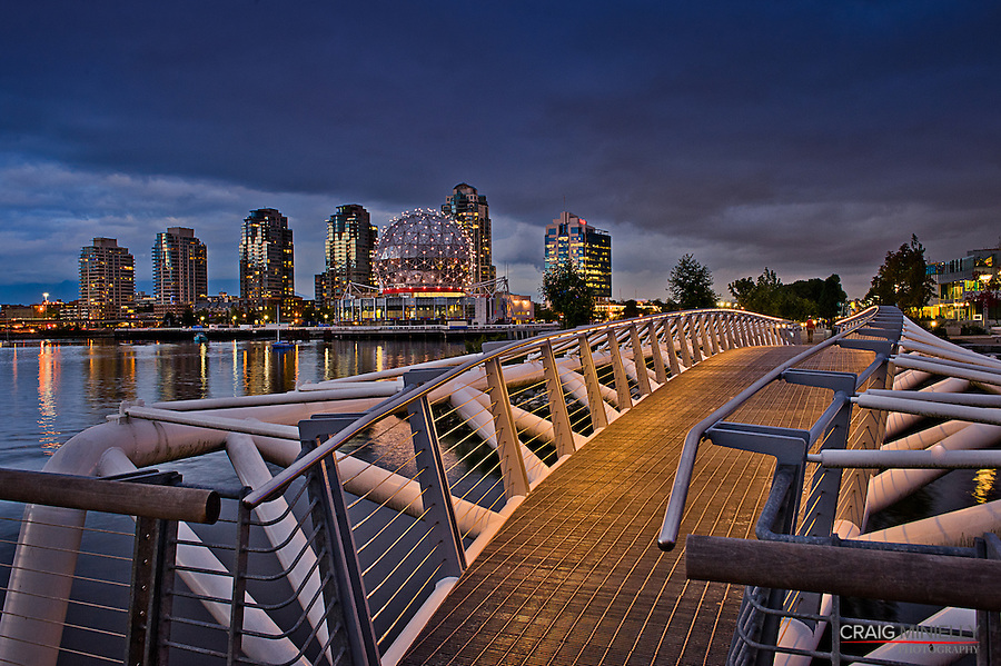 Waterfront View from Athletes Village to Science World  - Oct 6th 2011