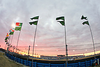 International flags at the Rolex 24 at Daytona , Daytona International Speedway, Daytona Beach, FL, January 2009.  )Photo by Brian Cleary)