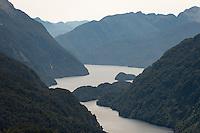 Doubtful Sound, Fiordland National Park, UNESCO World Heritage Area, Southland, New Zealand, NZ