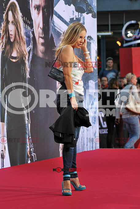 Berlin, August 13, 2012: Xenia Seeberg attends the &quot;Total Recall&quot; Premiere /NortePhoto.com<br />