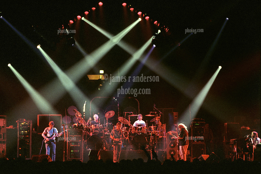 """The Grateful Dead Live at The Hampton Coliseum on 9 October 1989. One of the """"Formerly The Warlocks"""" concerts. Limited Edition Photographic Prints available for purchase in Cart."""
