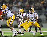 LSU running back Spencer Ware (11) scores a second quarter touchdown against Ole Miss at Vaught-Hemingway Stadium in Oxford, Miss. on Saturday, November 19, 2011.