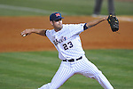 Ole Miss' Eric Callender (23) vs. Georgia in college baseball action at Oxford-University Stadium in Oxford, Miss. on Friday, April 8, 2011. Georgia won 9-8.