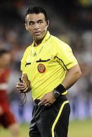 Referee Hikario  Grajeda... Sporting Kansas City defeated Real Salt Lake 2-0 at LIVESTRONG Sporting Park, Kansas City, Kansas.