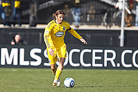 27 MARCH 2010:  Frankie Hejduk of the Columbus Crew(2) during the Toronto FC at Columbus Crew MLS game in Columbus, Ohio on March 27, 2010. Crew defeated Toronto FC 2-0.