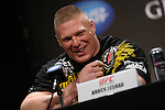 November 12, 2011: Brock Lesnar vs Alistar Overeem Press Conference