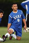 11 October 2009: Duke's Nick Sih. The Duke University Blue Devils defeated the University of North Carolina Greensboro Spartans 3-0 at Koskinen Stadium in Durham, North Carolina in an NCAA Division I Men's college soccer game.
