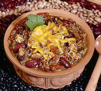 Chilli topped with Cheese