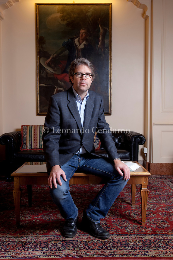 Jonathan Franzen (born August 17, 1959) is an American novelist and essayist. His third novel, The Corrections (2001), a sprawling, satirical family drama, drew widespread critical acclaim, earned Franzen a National Book Award, and was a finalist for the 2002 Pulitzer Prize for Fiction. His most recent novel, Freedom, was published in August 2010.  © Leonardo Cendamo