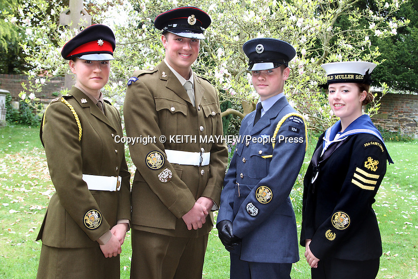 Lord Lieutenant's Church Service for Voluntary Organisations and service to mark the 60th anniversary of the Coronation of HM Queen Elizabeth ll at All Saint's Church, Leighton Buzzard, Bedfordshire - May 12th 2013<br />