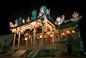 Leong San Tong Khoo Kongsi or Khoo Kongsi is one of the most distinctive Chinese clan associations and a magnificent clan house in capital Georgetown of Penang, Malaysia. Photo: Sanjit Das/Panos