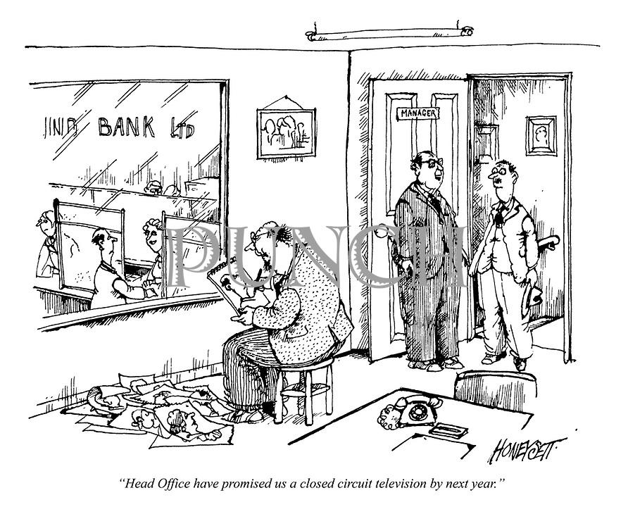 martin honeysett cartoons from punch magazine