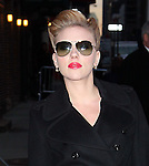 """Celebrities visits """"Late Show with David Letterman"""" New York, Ny December 12, 2011"""