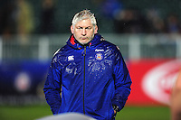 Bath Director of Rugby Todd Blackadder looks on during the pre-match warm-up. Anglo-Welsh Cup match, between Bath Rugby and Gloucester Rugby on January 27, 2017 at the Recreation Ground in Bath, England. Photo by: Patrick Khachfe / Onside Images