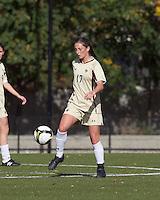 Boston College forward Alaina Beyar (17) traps the ball. Florida State University defeated Boston College, 1-0, at Newton Soccer Field, Newton, MA on October 31, 2010.
