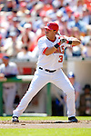 11 April 2006: Jose Vidro, second baseman for the Washington Nationals, at bat during the Nationals' Home Opener against the New York Mets in Washington, DC. The Mets defeated the Nationals 7-1 to start the 2006 season at RFK Stadium...Mandatory Photo Credit: Ed Wolfstein Photo..