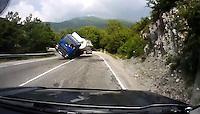 Nightmare scenario on the road