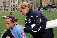 WPS Soccer Clinic April 07 2011
