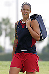 28 September 2006: Natasha Kai. The United States Women's National Team trained at the Home Depot Center in Carson, California.