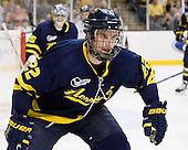 Brendan Ellis (Merrimack - 22) - The Merrimack College Warriors defeated the University of New Hampshire Wildcats 4-1 in their Hockey East Semi-Final on Friday, March 18, 2011, at TD Garden in Boston, Massachusetts.