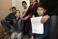 Chechen man who has just received the official URiC letter in Polish informing him and his family on the negative answer for the request asylum. .Now they are given 10 days to leave the Bielany refugee centre and the territory of Poland..Four of his brother are missing (probably dead) for many years. He has been arrested for no reason and interrogated during 3 weeks  suspected to have the connection with rebels he hasnât ever had. His wife has paid $2500 to the Russian corrupt administration to liberate him. He and his  pregnant wife, with 3 sons and a daughter escaped to Russia and then to Poland seven months ago. Now they are obliged to leave again..-For security reason, the face of the adult asylum seeker have been evicted of the photography..-For security reason, the names of the adult asylum seeker have been change. .-Article 9 of the Act of 13 June 2003 on grating protection on the Polish territory (Journal of Laws, No 128, it. 1176) personal data of refugees are an object of particular protection..-Cases where publication of a picture or name of asylum seeker had dramatic consequences for this persons and is family back in Chechnya. .Please have safety of those people in mind. Thank you.