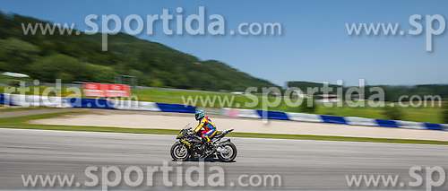 30.06.2012, Red Bull Ring, Spielberg, AUT, IDM Red Bull Ring, Qualifying, im Bild Klaus Grammer, (Suberbike, AUT, #38) // during the IDM qualifying day on the Red Bull Circuit in Spielberg, 2012/06/30, EXPA Pictures © 2012, PhotoCredit: EXPA/ M. Kuhnke