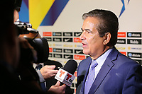 Santa Clara, CA - Tuesday, March 07, 2017: Jorge Luis Pinto during the unveiling of the CONCACAF 2017 Gold Cup Groups & Schedule at Levi's Stadium.