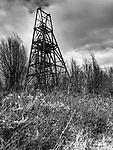 Frances Colliery Winding Gear near Dysart Fife Scotland