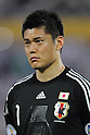 Eiji Kawashima (JPN), SEPTEMBER 6, 2011 - Football / Soccer : 2014 FIFA World Cup Asian Qualifiers Third round Group C match between Uzbekistan 1-1 Japan at Pakhtakor Markaziy Stadium in Tashkent, Uzbekistan. (Photo by AFLO) [2268]