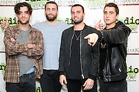 BALA CYNWYD, PA- NOVEMBER 16 :  The Heydaze visit Radio 104.5 performance studio in Bala Cynwyd, Pa on November 16, 2016  photo credit Star Shooter/MediaPunch