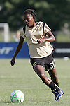 26 July 2009: Formiga (31) of FC Gold Pride.  Saint Louis Athletica tied the visiting FC Gold Pride 1-1 in a regular season Women's Professional Soccer game at Anheuser-Busch Soccer Park, in Fenton, MO.