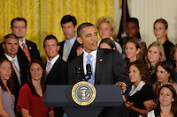 Sky Blue FC White House Visit July 01 2010
