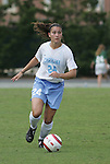 24 September 2006: UNC's Jessica Maxwell. The University of North Carolina Tarheels defeated the University of Miami Hurricanes 6-1 at Fetzer Field in Chapel Hill, North Carolina in an NCAA Division I women's soccer game.