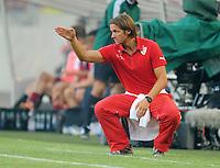 FUSSBALL   INTERNATIONAL   UEFA EUROPA LEAGUE   SAISON 2013/2014    Qualifikation, Rueckspiel VfB Stuttgart - HNK Rijeka      29.08.2013 VfB-Trainer Thomas Schneider