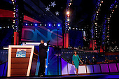 Denver, Colorado<br /> August 25, 2008<br /> <br /> The opening day of the Democratic National Convention in the Pepsi Center. Michelle Obama, the wife of Illinois Sen. Barak Obama, democratic presidential candidate takes the spot light.