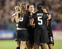 Tokyo, Japan - Saturday, Sept. 8, 2012: The United States defeated defending champion Germany 1-0 on Saturday in the 2012 FIFA Under-20 Women's World Cup at the Tokyo National Stadium.