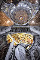 St Peter's Basilica at the Vatican particularly.Pope Francis celebrates a mass for Cardinals who died during the year at St Peter Basilica at The Vatican. on November 4, 2013