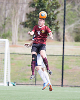 The Winthrop University Eagles played the UNC Wilmington Seahawks in The Manchester Cup on April 5, 2014.  The Seahawks won 1-0.  Pol Sole (10)
