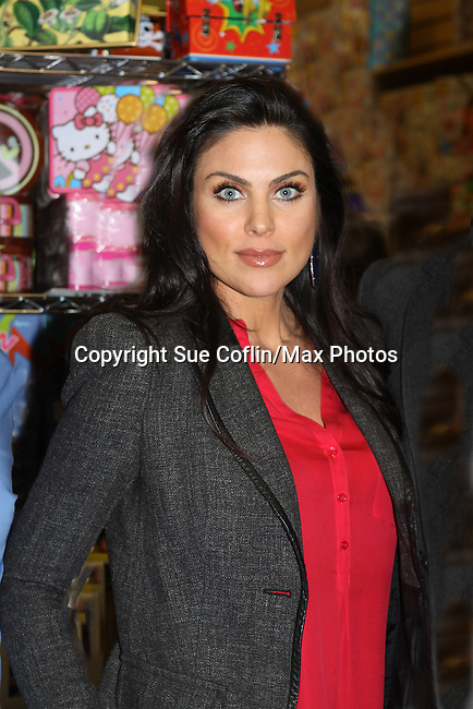 "Days of Our Lives Nadia Bjorlin at the Days of our Lives ""Better Living"" book signing as fans got to meet the cast on Septermber 23, 2013 at Books & Greetings, Northvale, New Jersey.  (Photo by Sue Coflin/Max Photos)"