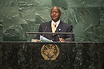 Uganda<br /> H.E. Mr. Yoweri Kaguta Museveni<br /> President<br /> <br /> General Assembly Seventy-first session: Opening of the General Debate 71 United Nations, New York