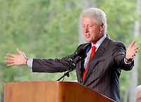 Former President Bill Clinton By Jonathan L Green Celebrity Photography USA