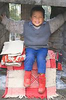 Baby creche at the Tibetan Children's village.