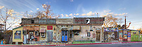 "When you are down on South Lamar in Austin, Texas, and you are hungry, stop by the Taco Express. This panaroma of the South Austin icon shows the uniqueness that embodies ""Keep Austin Weird""... and this is just the side of the building! Check out the front, too."