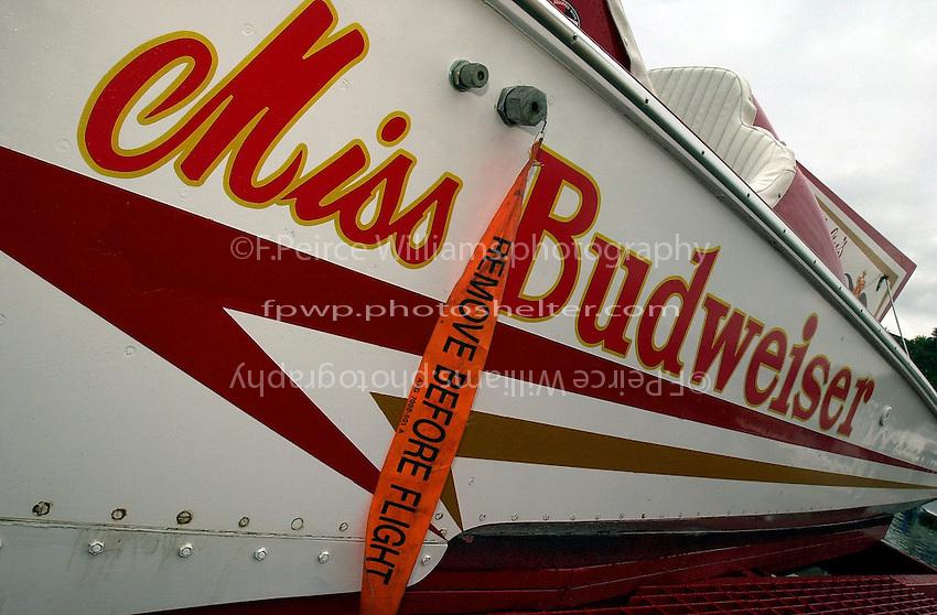 """Detail: U-12 """"Miss Budweiser"""" (b.1967)"""