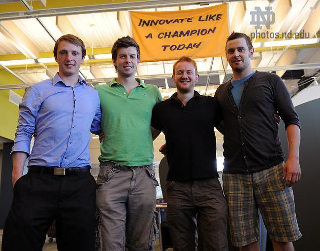 Naughton Fellows Shane McCarthy, Tomas Collins, Shane McQuillan and ...