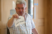 Poet Ian McMillan, Magdalen College School