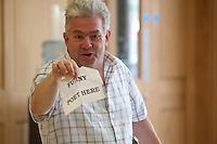Poet Ian McMillan, Magdalen College School